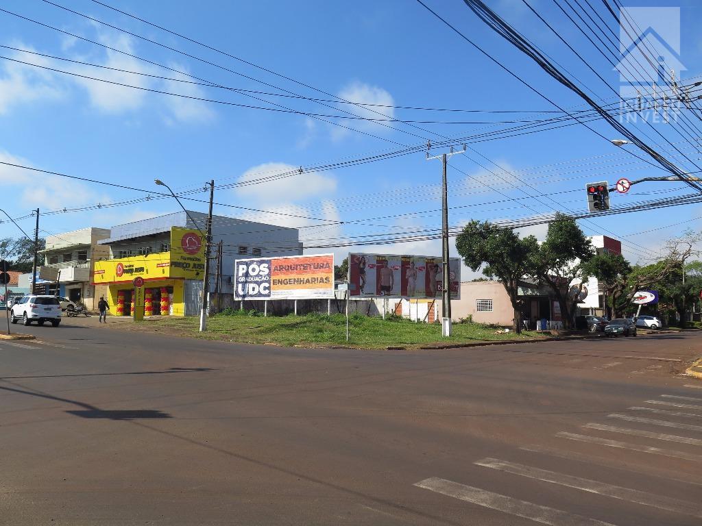 Terreno comercial para locação, Vila Matilde, Foz do Iguaçu.
