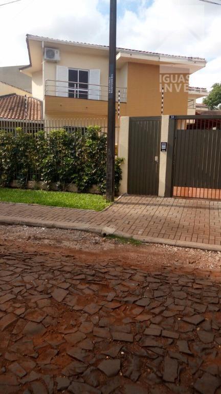 Sobrado residencial para locação, Jardim Lancaster I, Foz do Iguaçu.