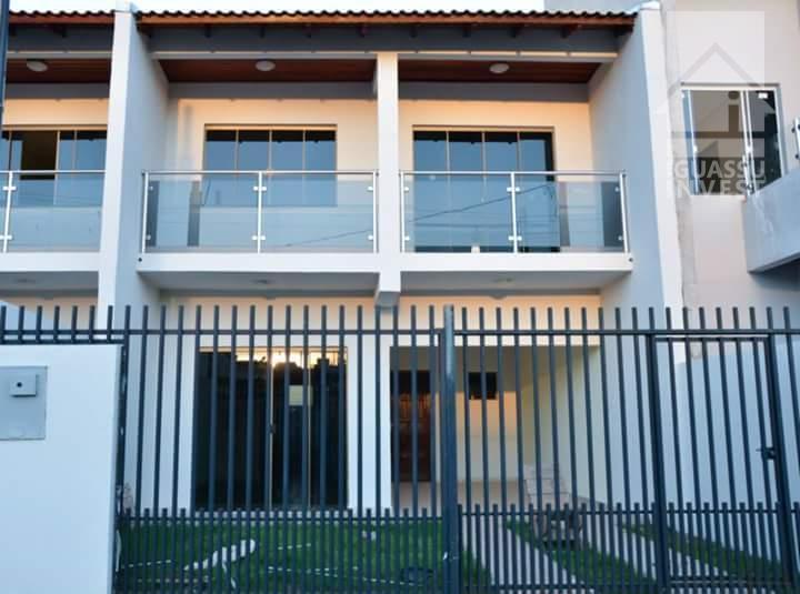 Sobrado residencial à venda, Jardim Duarte, Foz do Iguaçu.