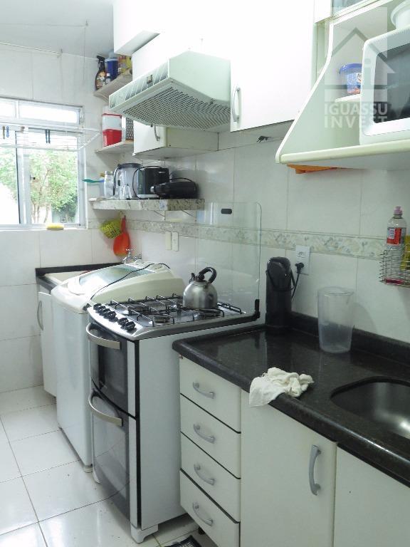 Apartamento residencial à venda, Jardim Residencial Bela Vista, Foz do Iguaçu.