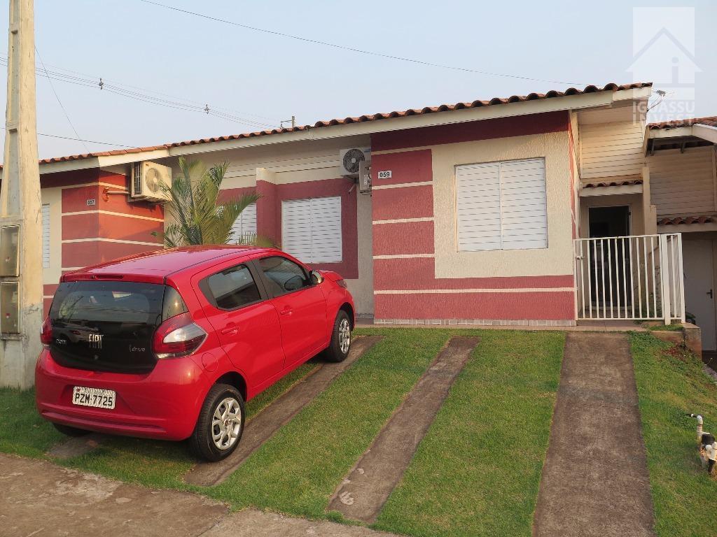Casa residencial para locação, Conjunto B, Foz do Iguaçu.