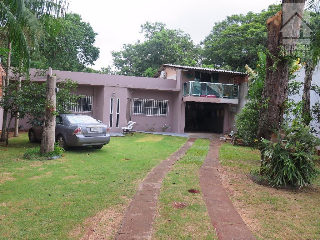 Casa residencial à venda, Parque Ouro Verde, Foz do Iguaçu.