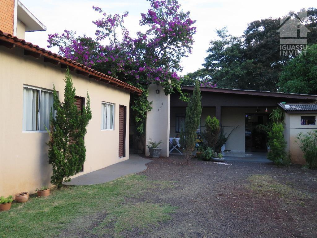 Casa residencial à venda, Centro, Foz do Iguaçu.