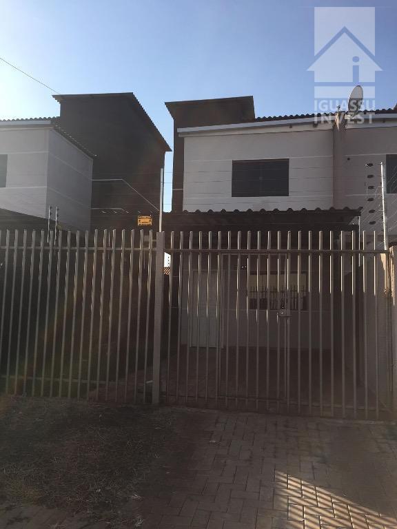 Sobrado residencial para locação, Loteamento Don Giovanni, Foz do Iguaçu.
