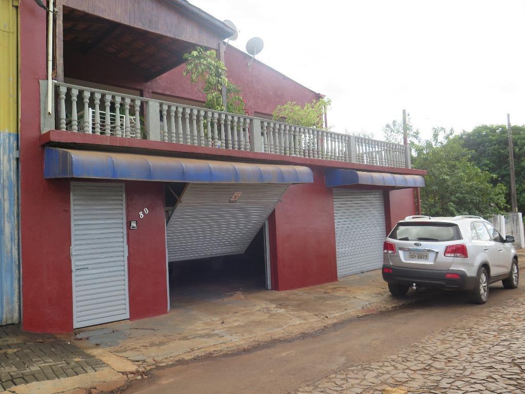 Sobrado residencial à venda, Vila Adriana, Foz do Iguaçu - SO0062.