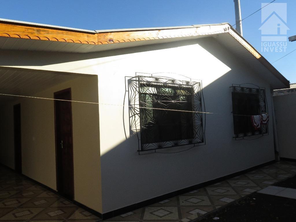 Casa residencial para locação, Jardim das Flores, Foz do Iguaçu.