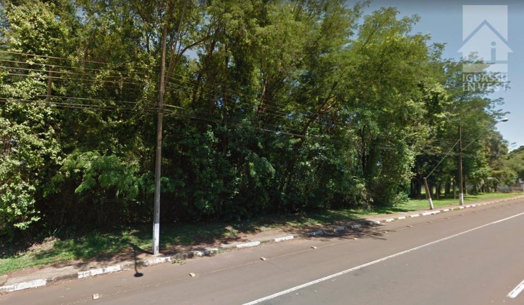 Terreno comercial à venda, Parque Ouro Verde, Foz do Iguaçu.