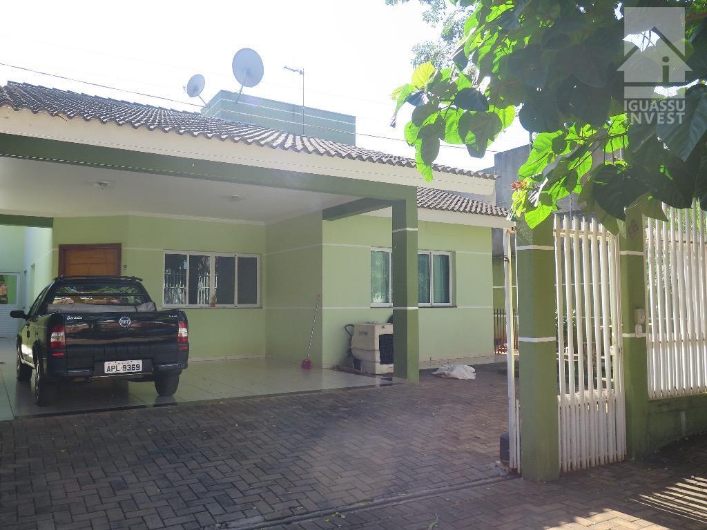 Casa residencial à venda, Jardim Iara, Foz do Iguaçu.