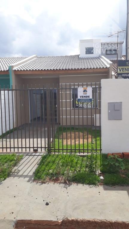 Casa com 2 dormitórios à venda, 48 m² por R$ 135.000 - Jardim Alvorada - Foz do Iguaçu/PR