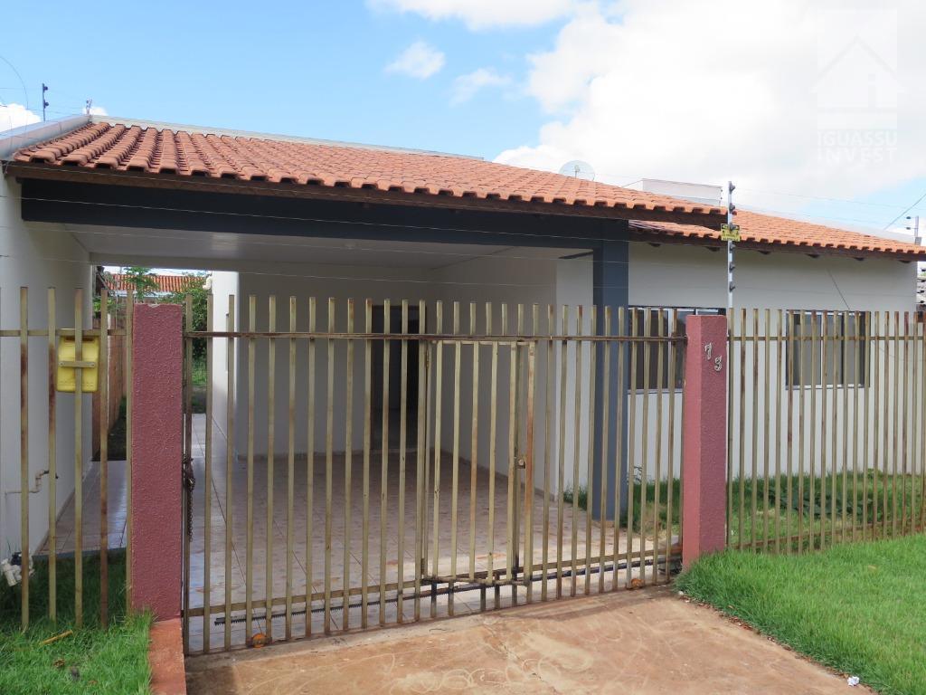 Casa com 4 dormitórios à venda, 121 m² por R$ 275.000 - Loteamento Jardim Madre Tereza - Foz do Iguaçu/PR