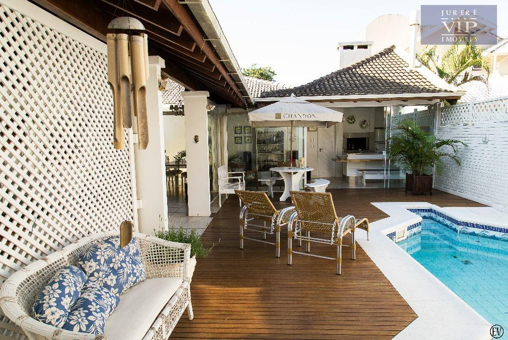 Casa Residencial à venda, Jurerê Internacional, Florianópolis - CA0076.
