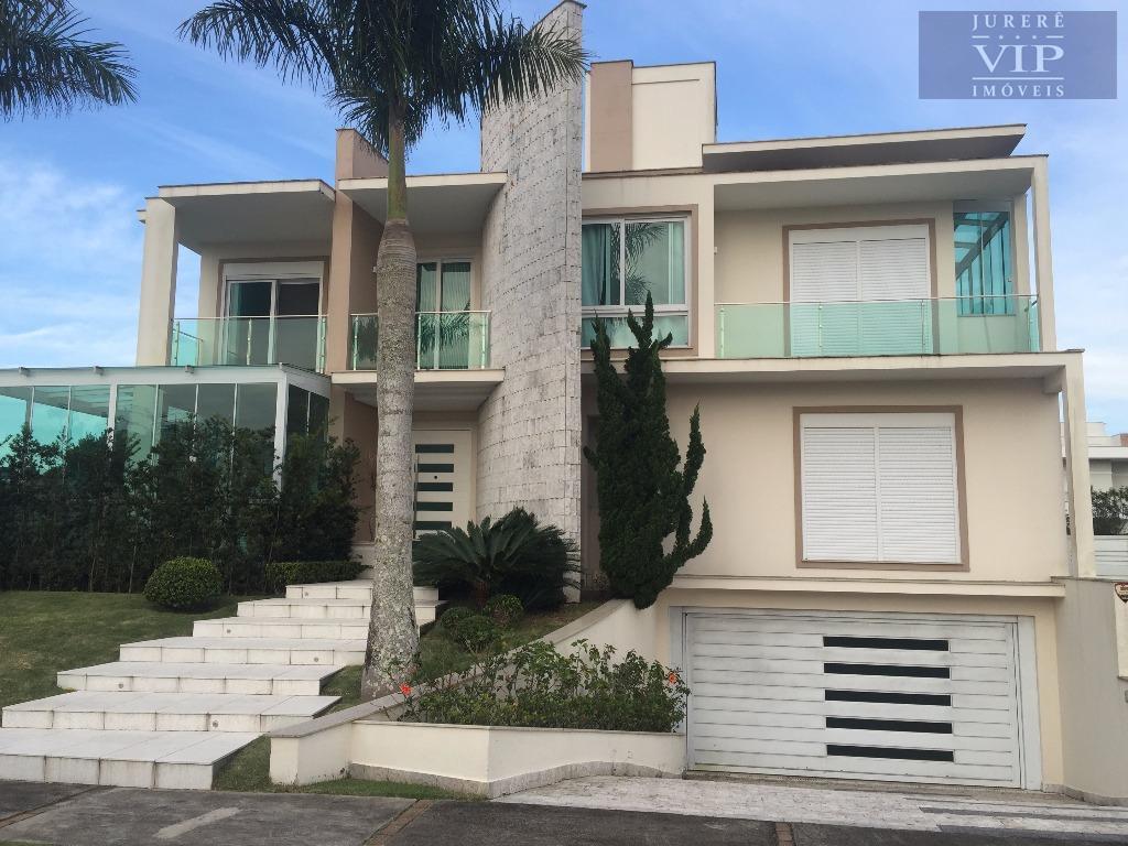 Casa Residencial à venda, Jurerê Internacional, Florianópolis - CA0145.