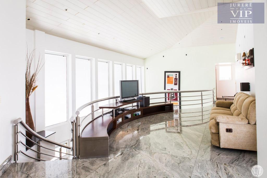 magnífica mansão em jurerê internacional, com três andares destinado ao uso residencial. vista mar com acesso...