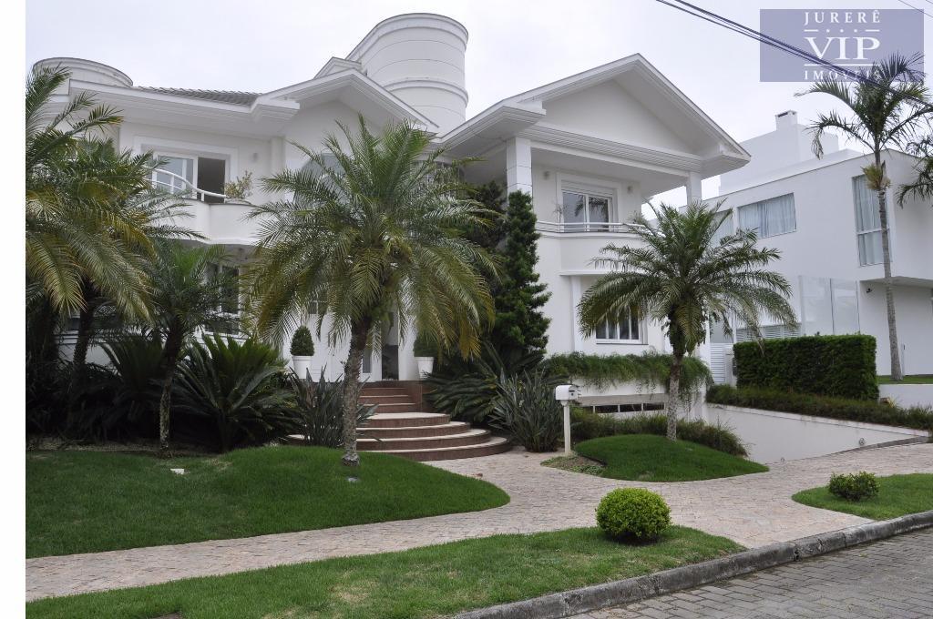 Casa residencial à venda, Jurerê Internacional, Florianópolis - CA0218.