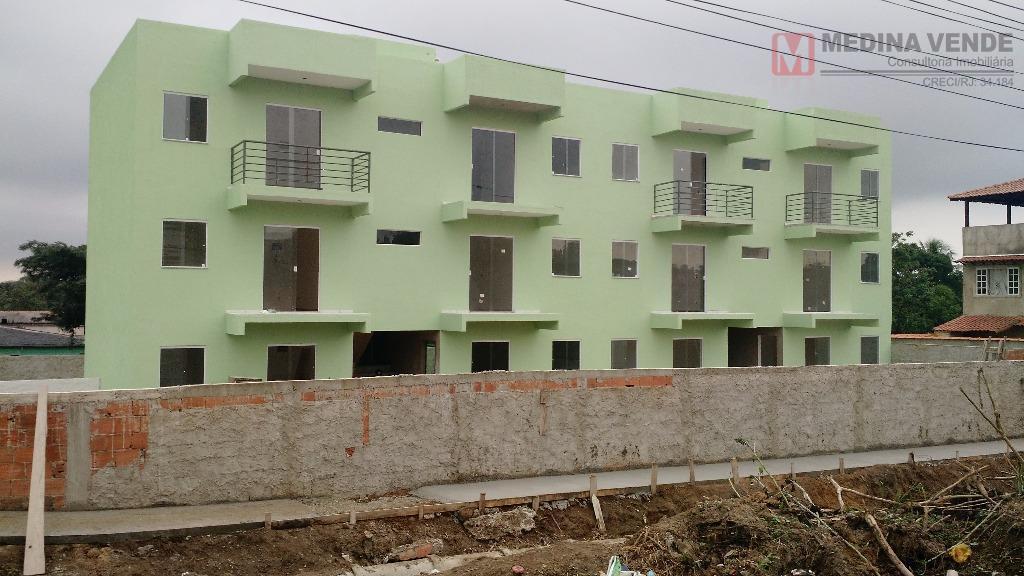 Apartamento residencial à venda, Bom Retiro, São Gonçalo - AP0152.