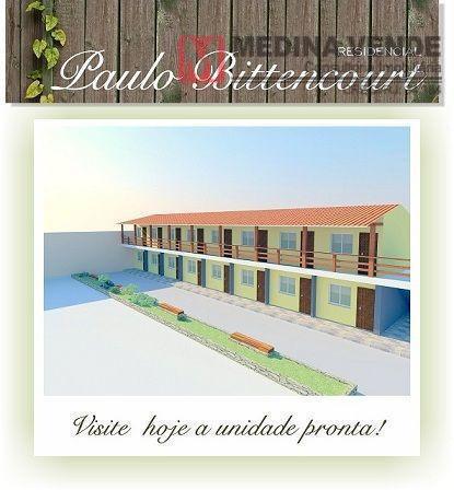 Apartamento residencial à venda, Boa Vista, São Gonçalo - AP0012.