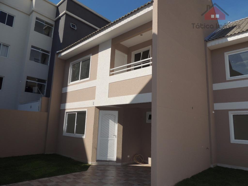 Sobrado residencial à venda, Hauer, Curitiba - SO0010.