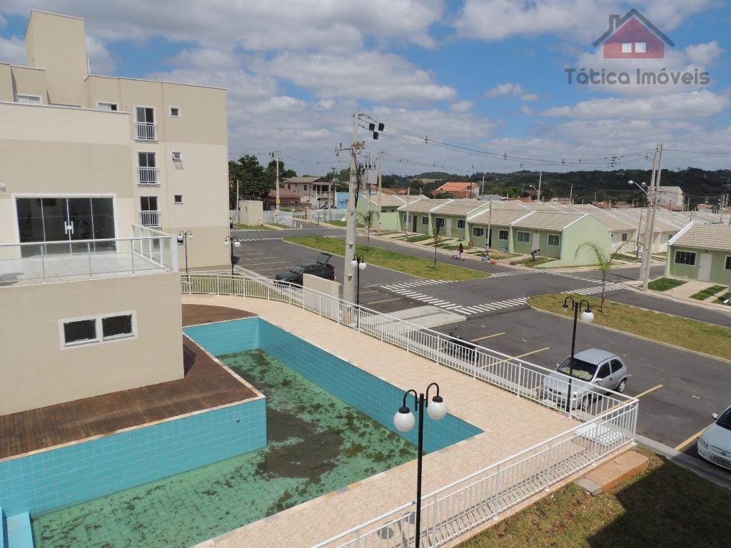 Apartamento em Condomínio Clube a venda, Capela Velha, Araucária.