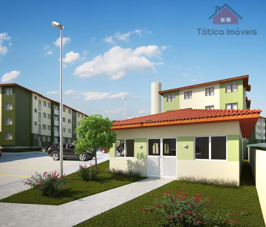 Apartamento residencial à venda, Capela Velha, Araucária.