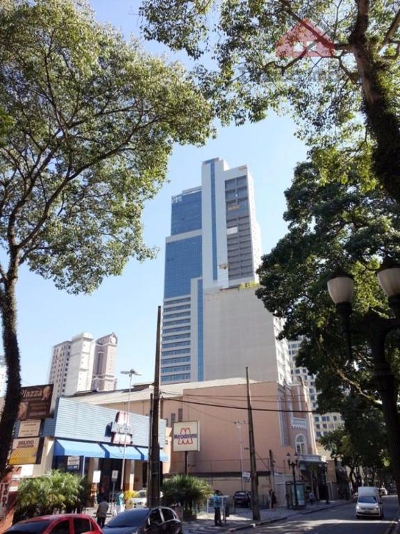 Apartamento residencial para locação, Centro, Curitiba - AP0177.