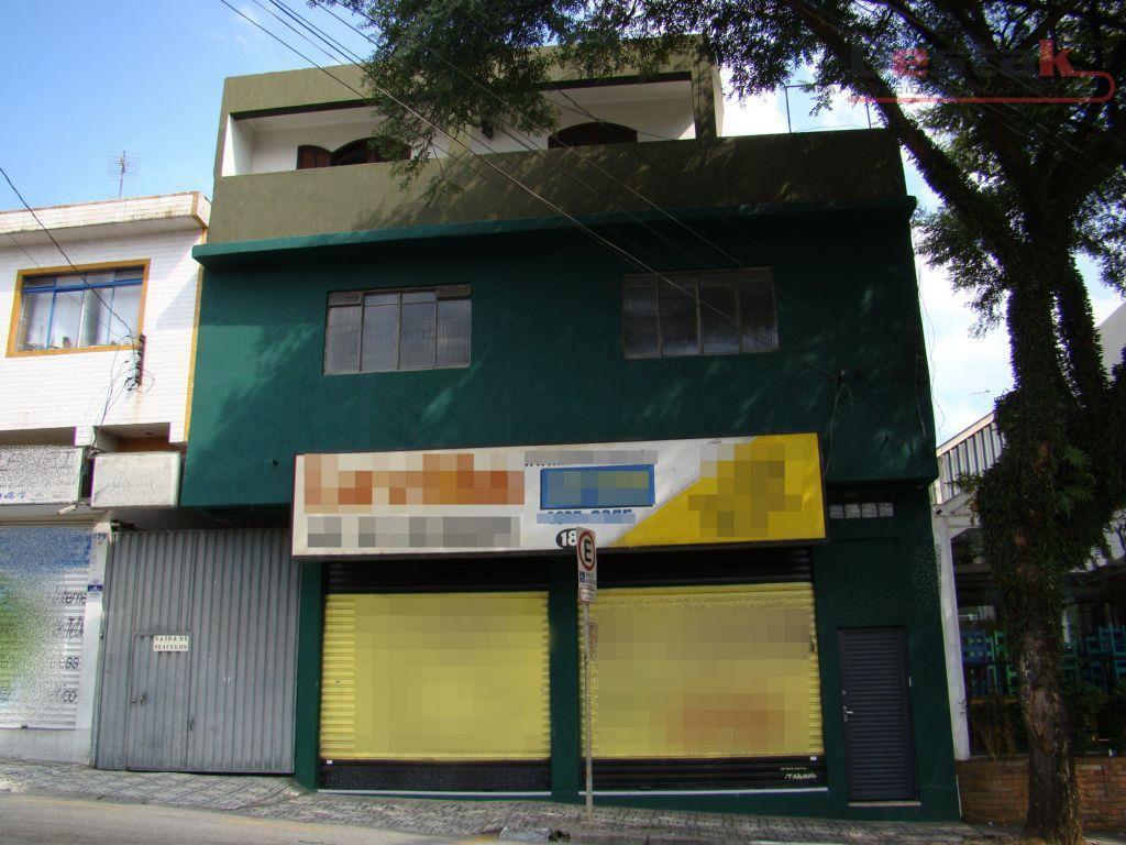 Prédio comercial/ residencia à vendal, Centro - SBC
