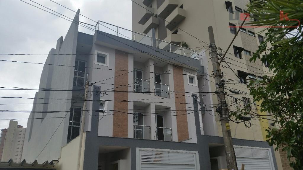 Cobertura, 2 dorms, Centro, Santo André.
