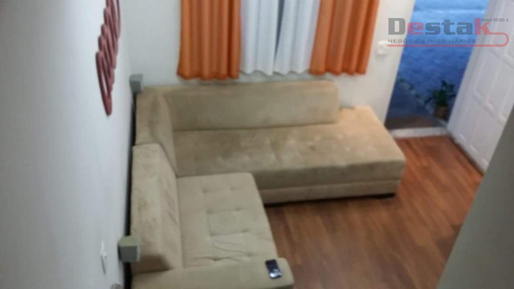 Sobrado com 2 dormitórios para alugar, 70 m² por R$ 1.400/mês - Parque Espacial - São Bernardo do Campo/SP