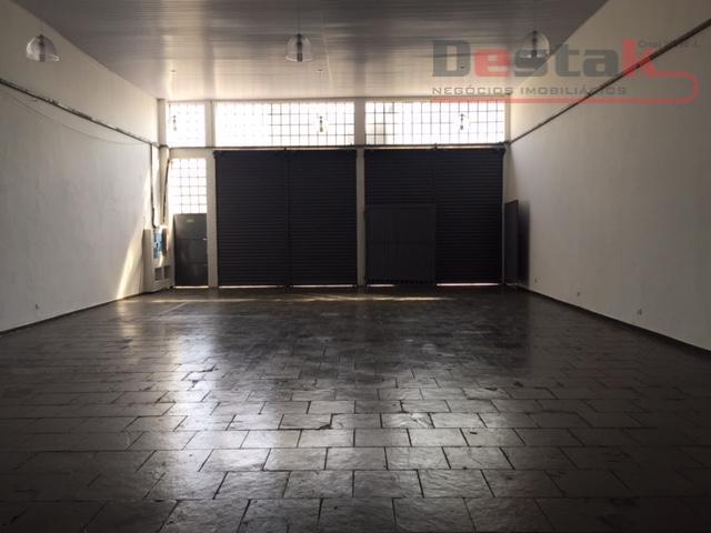 Otimo Salão  comercial para locação, Utinga, Santo André.
