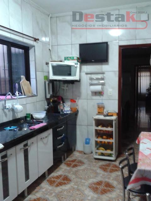 Casa residencial à venda, Vila Helena, Santo André.