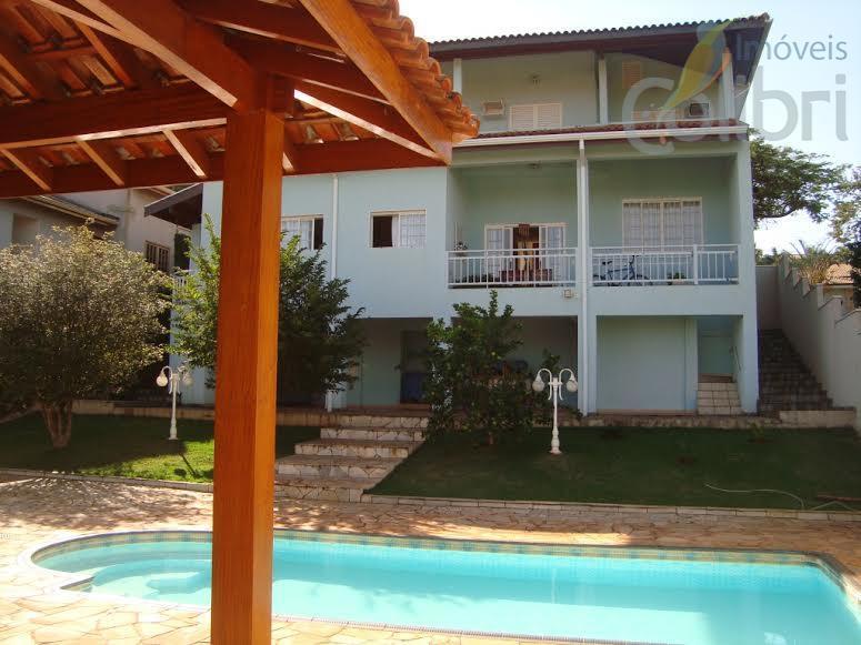 Casa residencial à venda, Condomínio Genova, Ribeirão Preto.
