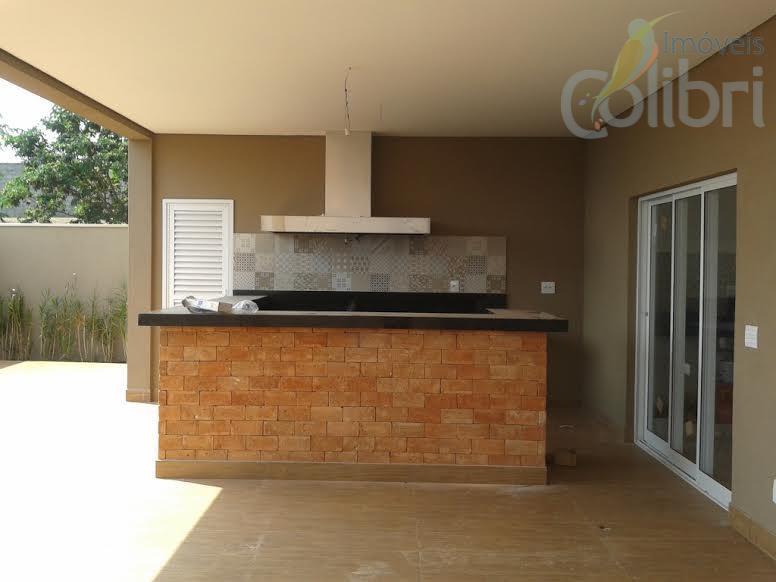 Casa residencial à venda, Condomínio Bella Cittá, Ribeirão Preto.