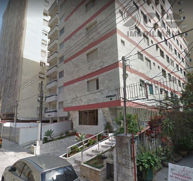 Apartamento em Embaré - Santos-SP - Aceita troca por imóvel em SP
