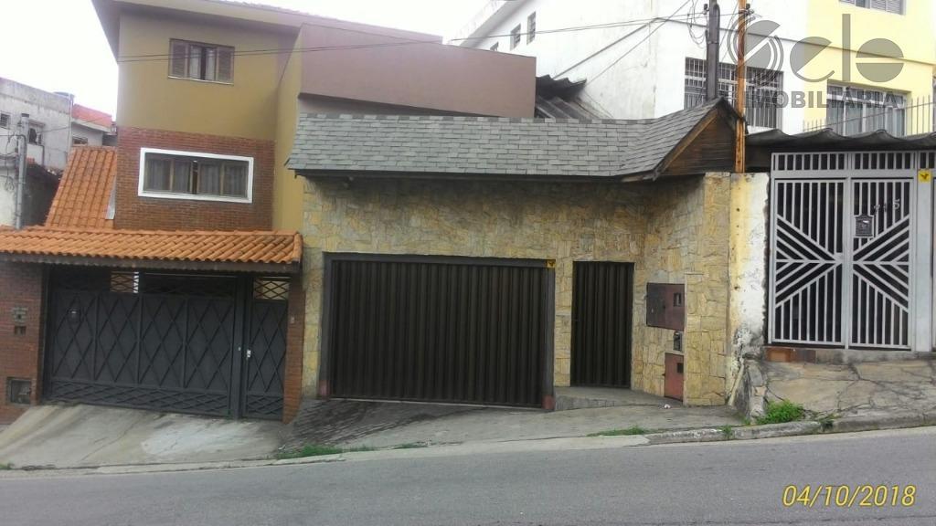 Sobrado residencial à venda, Moinho Velho, São Paulo.