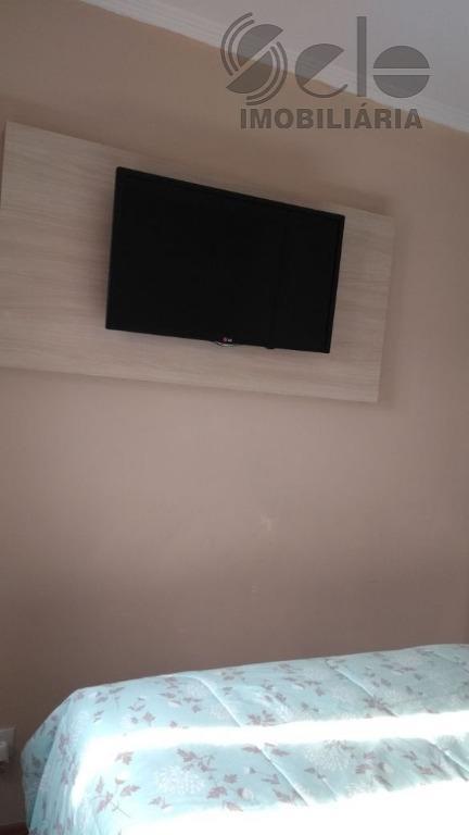 lindo apartamento com 3 dormitórios, todos com armários, sala 2 ambientes, cozinha mobiliada, bom estado de...