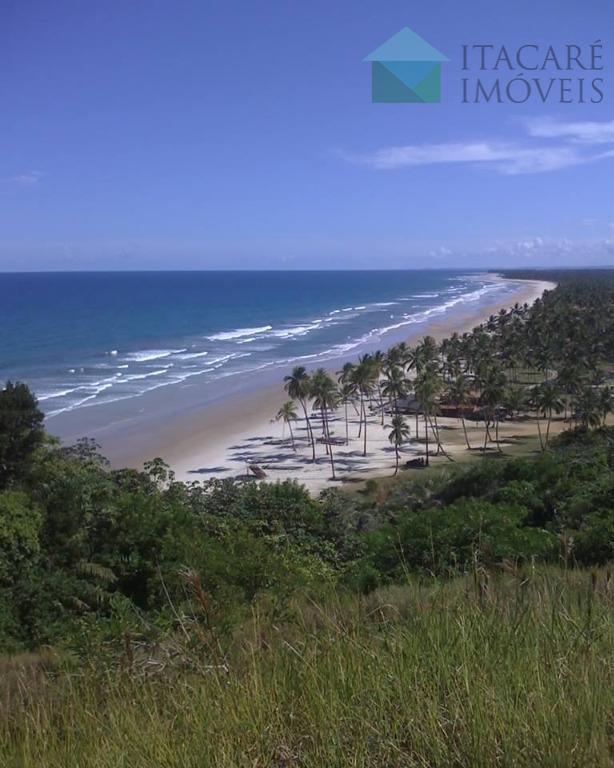 área de 54.629 m2 (titulada, registrada ). localizada 35 km ao norte de ilhéus, sentido itacaré,...