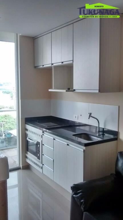 Studio com 1 dormitório para alugar, 36 m² por R$ 1.700/mês - Vila Augusta - Guarulhos/SP