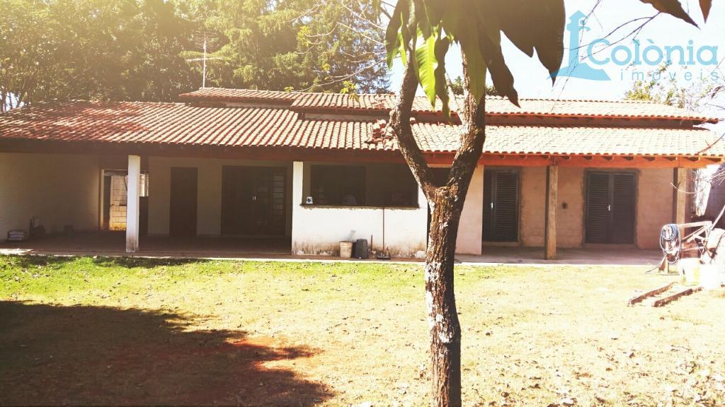Chácara residencial à venda, Água Vermelha, São Carlos.