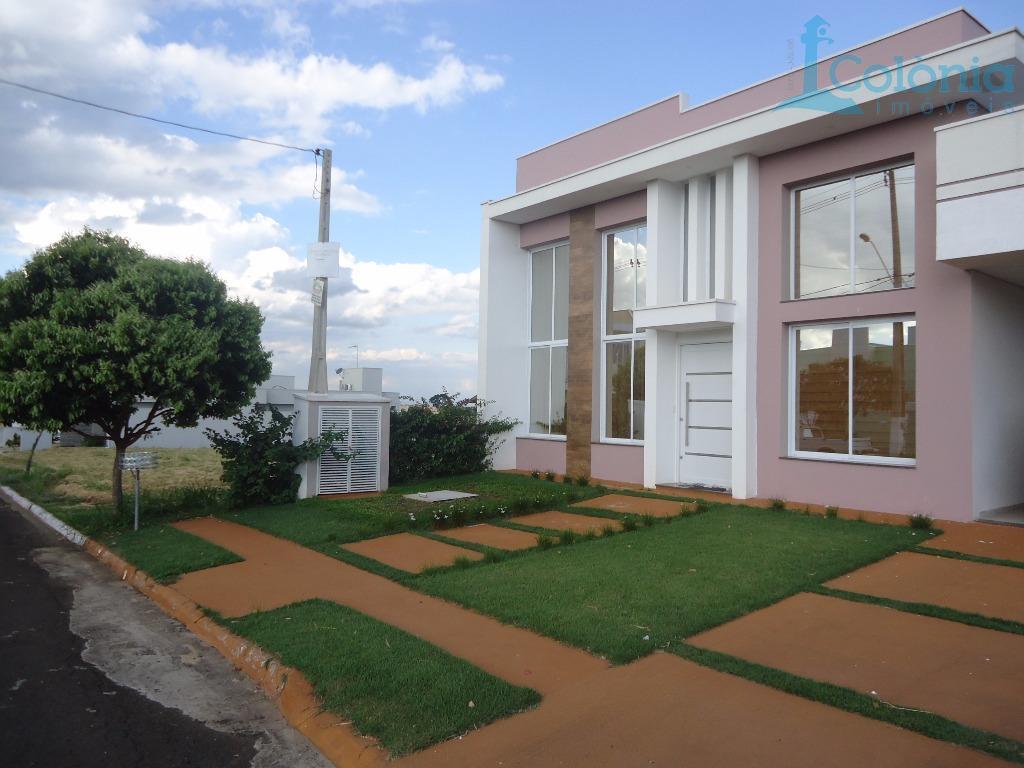Casa residencial à venda, Jardim Quinta das Flores, Pirassununga.
