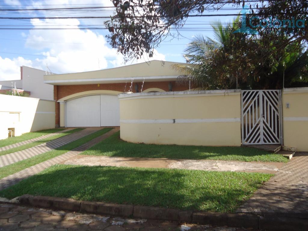 Casa residencial à venda, Cidade Jardim, Pirassununga.