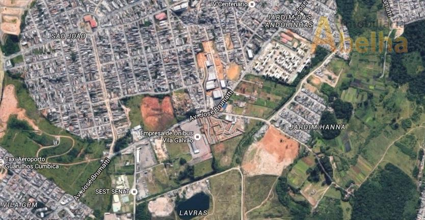 Terreno residencial à venda, Jardim Hanna, Guarulhos.