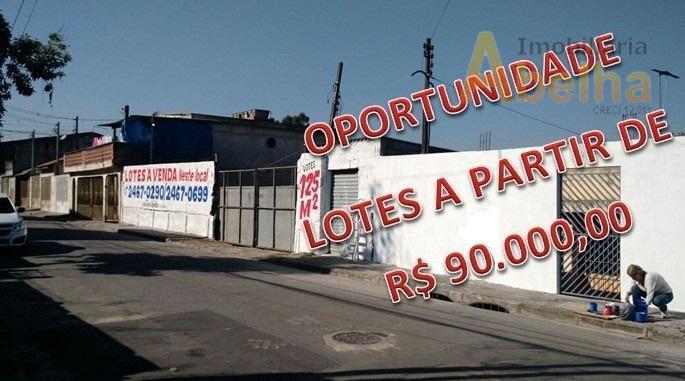 Terreno residencial à venda, Jardim Presidente Dutra, Guarulhos.