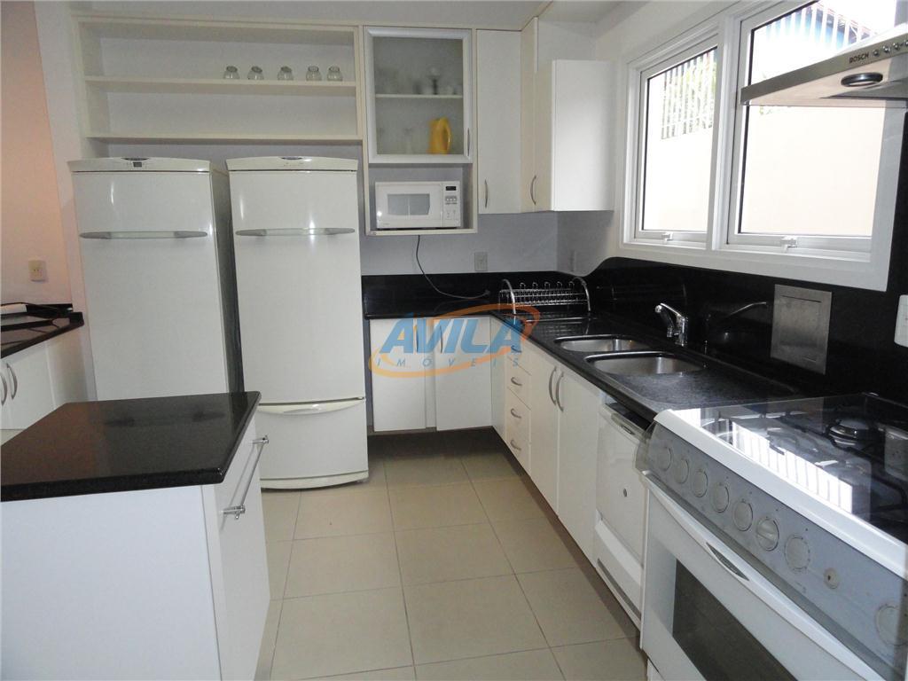 projeto moderno com área de lazer com piscina, churrasqueira e chuveiro externo. 3 dormitórios sendo 2...
