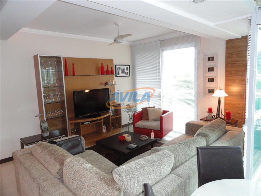 cobertura totalmente mobiliada, com armários na cozinha, banheiros e dormitórios. aluga-se com móveis da sala, eletrodomésticos,...