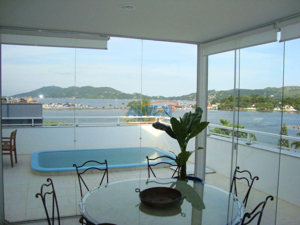 Cobertura residencial à venda, Lagoa da Conceição, Florianópolis.