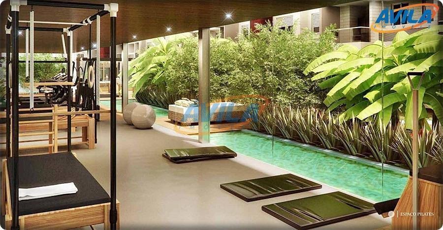 apartamento 2 dormitórios,1 suíte, lavabo, sacada com churrasqueira. condomínio com infraestrutura completa e projeto com lindo...