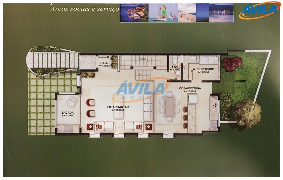 condomínio privativo com somente 6 unidades. bem localizado fica a 5 minutos do centrinho da lagoa,...