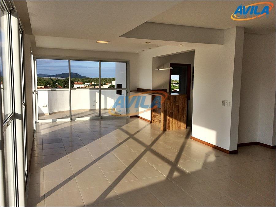 Cobertura de 3 suítes com 250 m² para locação - Campeche - Florianópolis.
