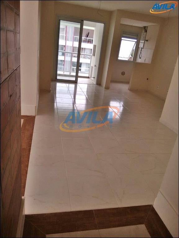 cobertura de 2 d (1 s), cozinha integrada com sala de jantar (copa), ampla sala com...