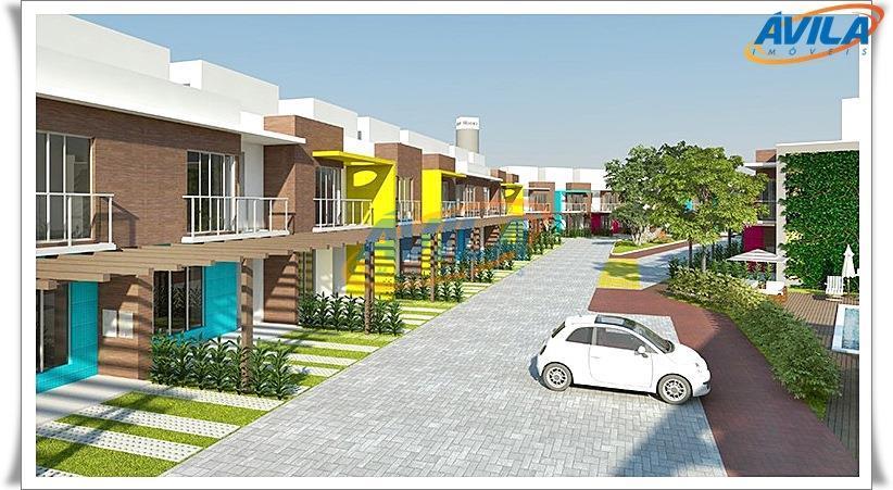 Charme da Lagoa da Conceição - Casas 3D (1 S) em construção - Condomínio