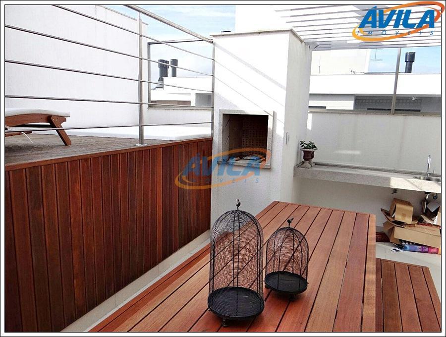 linda cobertura nova com 2 dormitórios, sendo 1 suíte, 2 vagas de garagem, super bem localizada,...